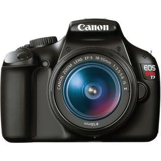 Canon EOS Rebel T3 Digital SLR Camera with 18-55mm IS II Lens Bundle