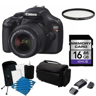Canon EOS Rebel T3 Digital SLR Camera with 18-55mm IS II Lens Bundle