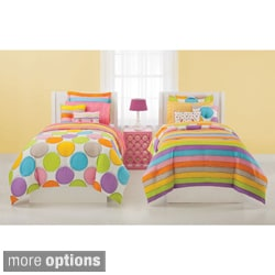 Jackie Mcfee Spot On 7-piece Bed in Bag with Sheet Set
