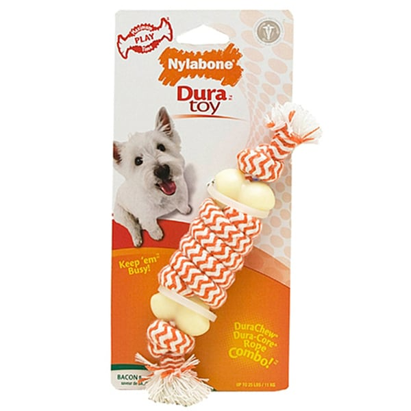 Nylabone Bacon Flavor Play Rope