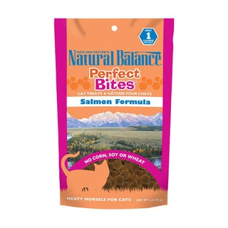 Natural Balance Salmon Flavor Perfect Bites Treats