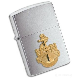 Zippo Anchor Emblem Lighter