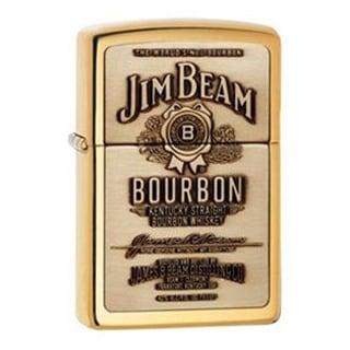 Zippo Jim Beam Gold Lighter
