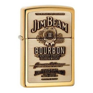 Zippo Jim Beam Gold Lighter