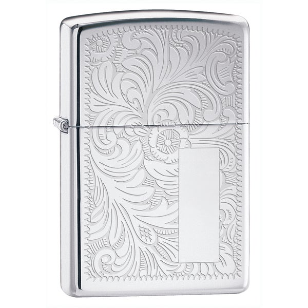 Zippo Venetian Silver Lighter