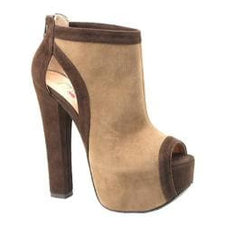 Women's Luichiny Hang of This Camel/Dark Brown Imi Suede