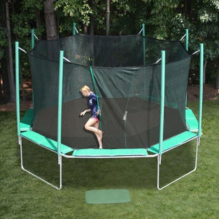 SportsTramp Extreme 16-foot Octagon Trampoline with Detachable Cage