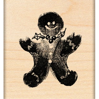 """Penny Black Mounted Rubber Stamp 1.75""""X2""""-Ginger Treat"""