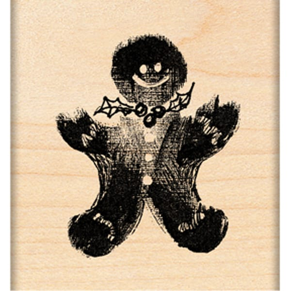 "Penny Black Mounted Rubber Stamp 1.75""X2""-Ginger Treat"
