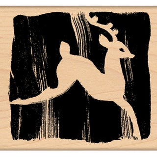 "Penny Black Mounted Rubber Stamp 2.25""X2.25""-Prance"