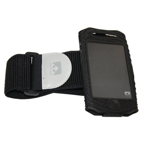 Nathan Sonic Boom Armband For iPhone 4/4S Black/Black
