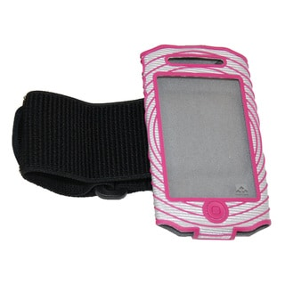 Nathan Sonic Boom Armband For iPhone 4/4SSilver/Berry
