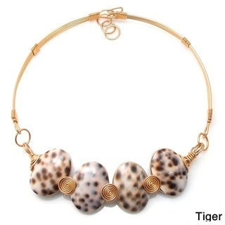 Ocean's Beauty Sea Shells Brass Wire Choker (Philippines)