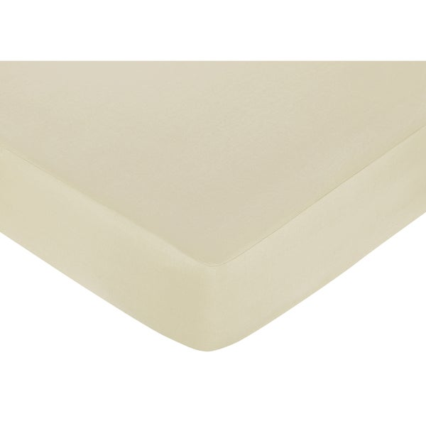 Sweet JoJo Designs Tan Fitted Crib Sheet
