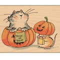 "Penny Black Mounted Rubber Stamp 2.5""X3.25""-Trick Or Treat"