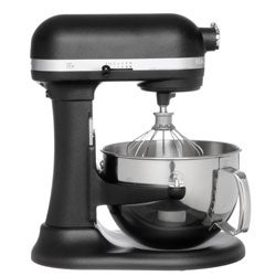 KitchenAid RKP26M1XBK Imperial Black 6-quart Pro 600 Series Stand Mixer (Refurbished)