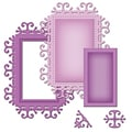 Spellbinders Die D-Lites-Frame One