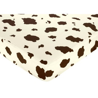 Sweet JoJo Designs Cowgirl Fitted Crib Sheet