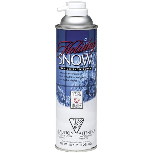 Design Master Holiday Snow Spray 18 Ounces-White