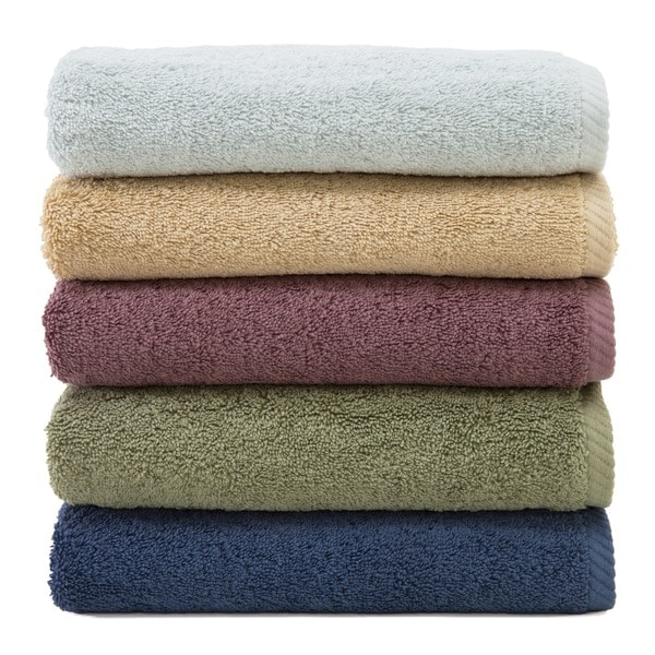 Authentic Plush Soft Twist Hotel and Spa Turkish Cotton 4-pieceTowel Set with Bath Sheet