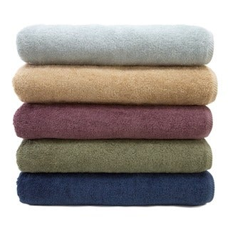 Authentic Plush Soft Twist Hotel and Spa Turkish Cotton Bath Towel (Set of 2)