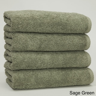 Authentic Soft Twist Hotel and Spa Turkish Cotton Hand Towels (Set of 4)