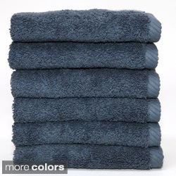 Authentic Soft Twist Hotel and Spa Turkish Cotton Wash Cloths (Set of 6)