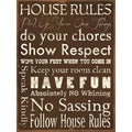Stephanie Marrott 'House Rules' Unframed Print Art