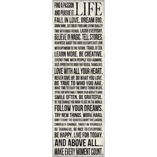 Louise Carey 'This Is Your Life' Unframed Print Art