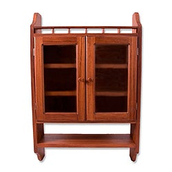 Parota Wood 'Hacienda' Cabinet (Mexico)