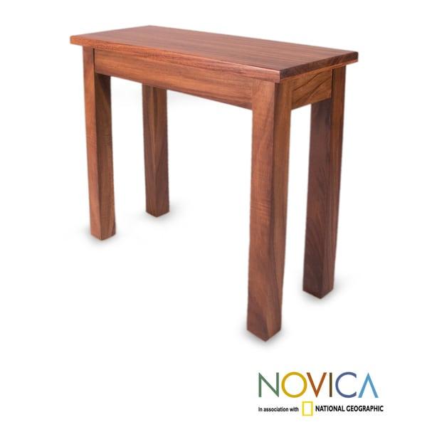 Parota Wood 'San Pedrito Mission' Console Table (Mexico)