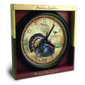 American Expedition 16-inch Wild Turkey Wall Clock