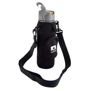 Nathan Black Neoprene Insulated Bottle Sling