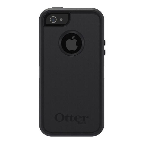 OtterBox Apple iPhone 5 Black Defender Case