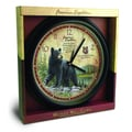 American Expedition Black Bear Wall Clock