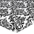 Sweet JoJo Designs Damask Fitted Crib Sheet