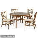 Bimini Jim 5-Piece Bamboo-Look Dining Set