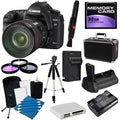 Canon EOS 5D Mark II Digital SLR Camera with 24-105 IS USM Lens Bundle