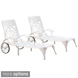 Biscayne Chaise Lounge Chairs (Set of 2)