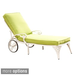 Biscayne Chaise Lounge Chair with Cushion
