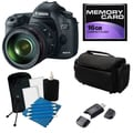 Canon EOS 5D Mark III Digital SLR Camera with 24-105 IS Lens Bundle