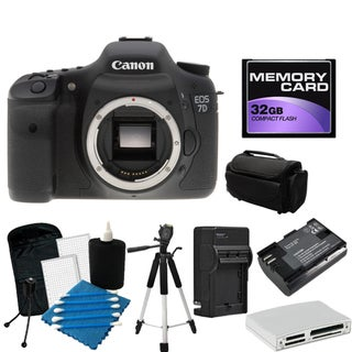 Canon EOS 7D Pro Digital SLR Camera Bundle