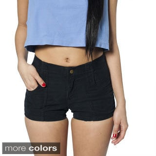 American Apparel Women's Corduroy West Coast Shorts