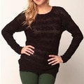 Covered By Suss Teresa Openback Boatneck Sweater