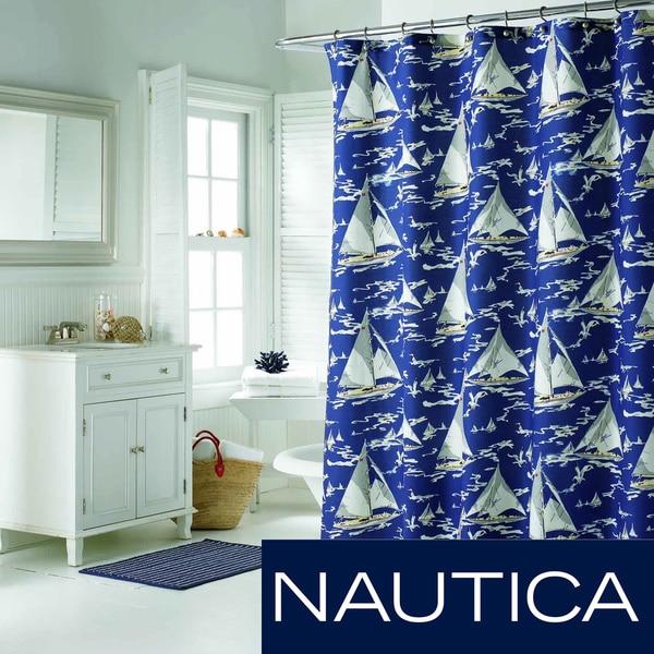 Nautica Monterey Sail Shower Curtain