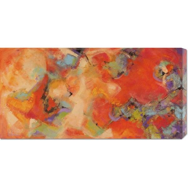 Tebo Marzari 'Piacevoli emozioni' Stretched Canvas Art