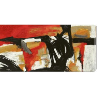 Jim Stone 'Into the fire' Stretched Canvas Art