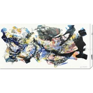 Nino Mustica 'Senza titolo 2012, I' Stretched Canvas Art