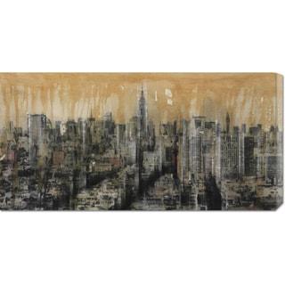Dario Moschetta 'NYC6 (detail)' Stretched Canvas Art