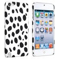 BasAcc White/ Black Dalmatian Case for Apple iPod Touch 5th Generation